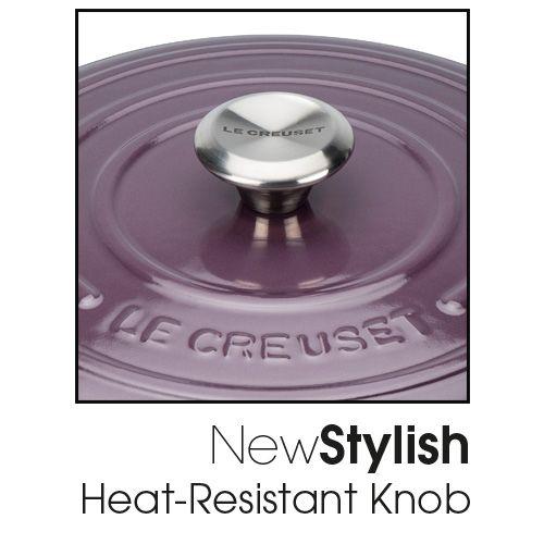 Le Creuset Signature Cassis Cast Iron 24cm Round Casserole