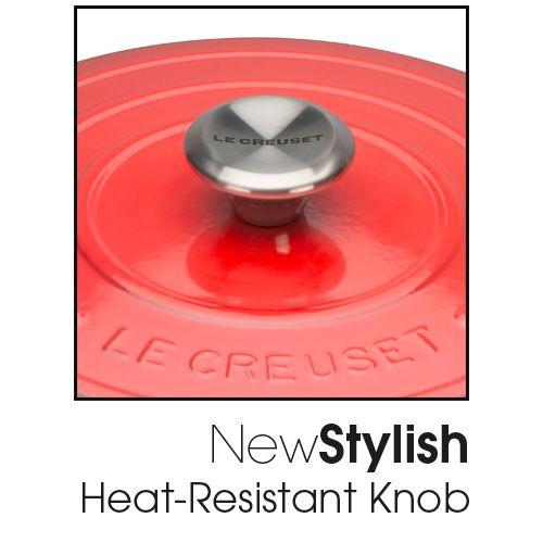 Le Creuset Signature Cerise Cast Iron 26cm Round Casserole