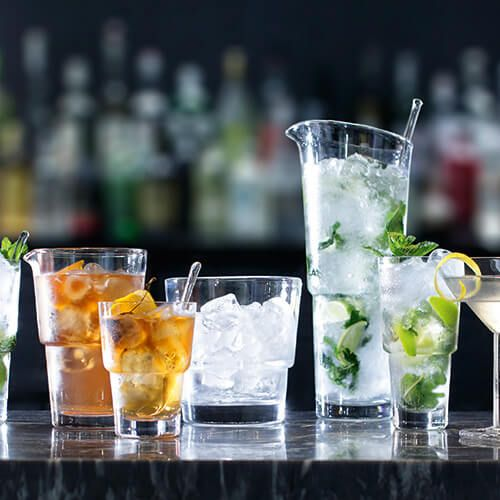 LSA Mixologist Cocktail Ice Bucket & Tongs