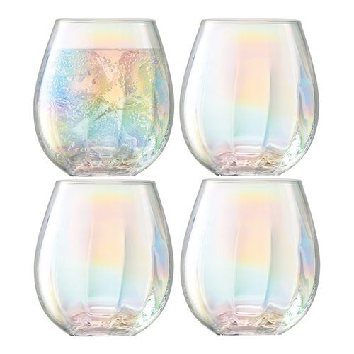 LSA Pearl Tumbler 425ml Set Of 4