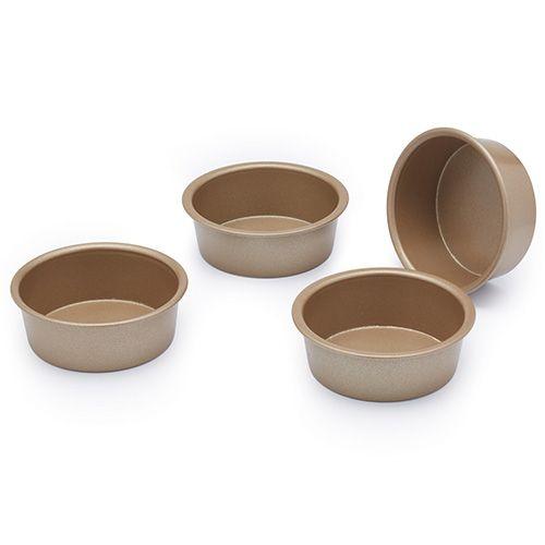 Paul Hollywood Non Stick Set Of 4 Mini Baking Pans