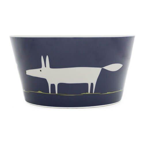 Scion Living Mr Fox Indigo Bowl