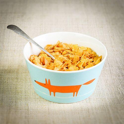 Scion Living Mr Fox Duck Egg & Orange Bowl