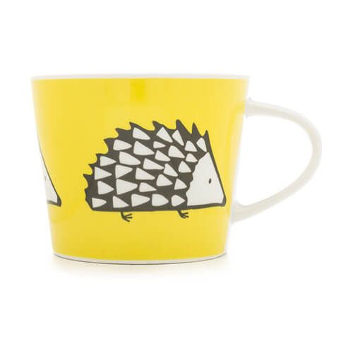 Scion Living Spike Yellow 250ml Mini Mug