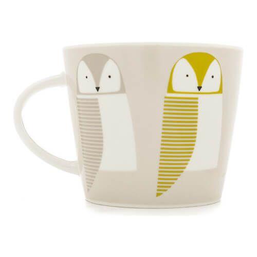 Scion Living Barnie Owl Citrus, Forest & Sky 350ml Mug