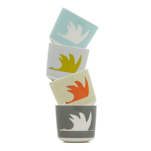 Scion Living Colin Crane Set Of 4 Egg Cups