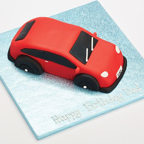 Sweetly Does It Car Shaped Cake Pan
