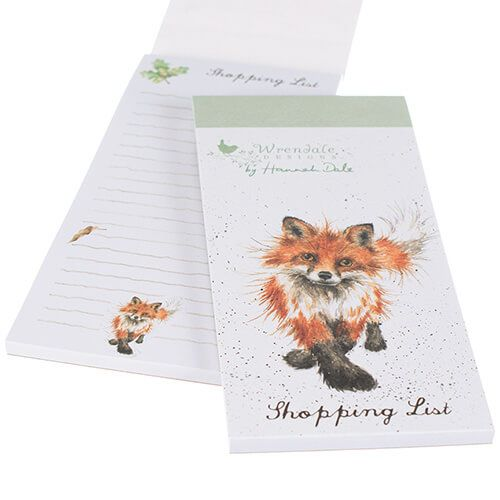 Wrendale Fox Shopping Pad