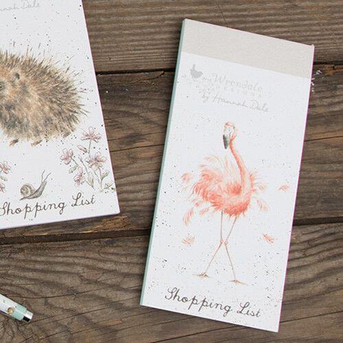 Wrendale Flamingo Shopping Pad