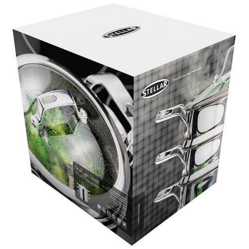 Stellar Premium 24cm 3 Tier Steamer Set