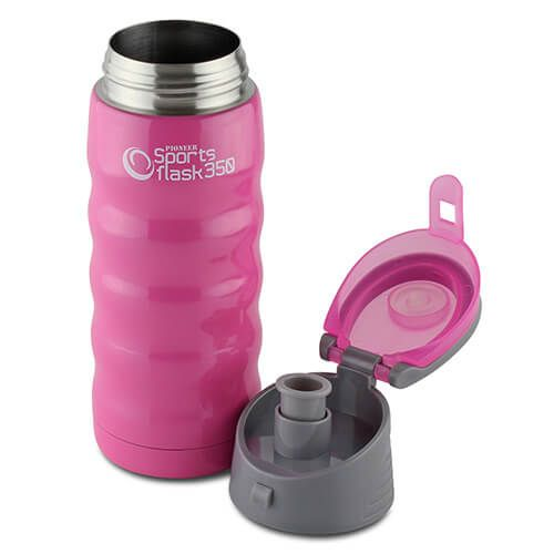 Pioneer Insulated Sports Flask 350ml Pink