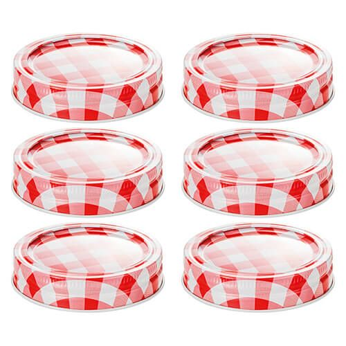 Judge Pot Holders: Judge Set Of 6 Preserving Jar Lids