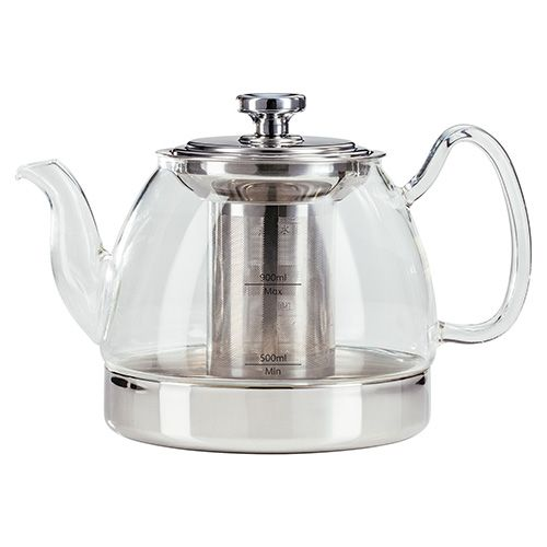 Judge Hob Top Induction 900ml Glass Teapot
