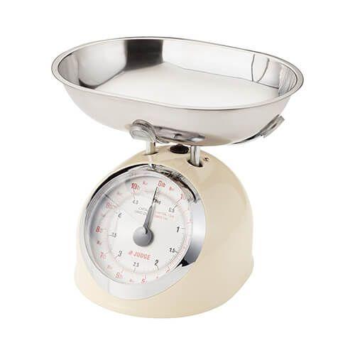 Judge 5kg Traditional Scale Cream