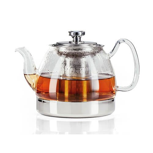 Judge Hob Top Induction 1.2 Litre Glass Teapot