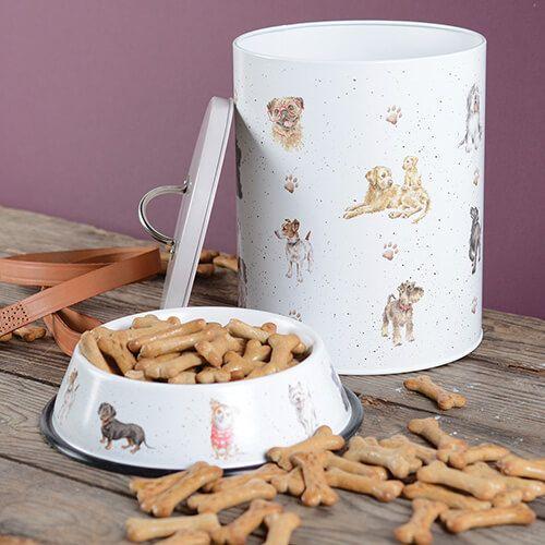 Wrendale Dog Treat Tin