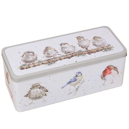 Wrendale Designs Birds Cracker Tin