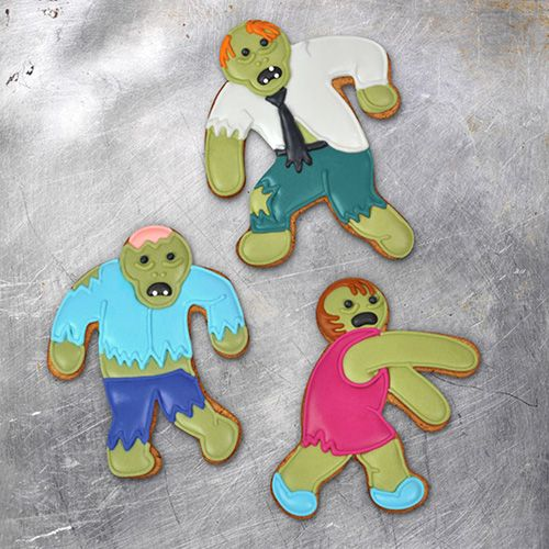 Fred Undead Fread Zombie Set Of 3 Cookie Cutters