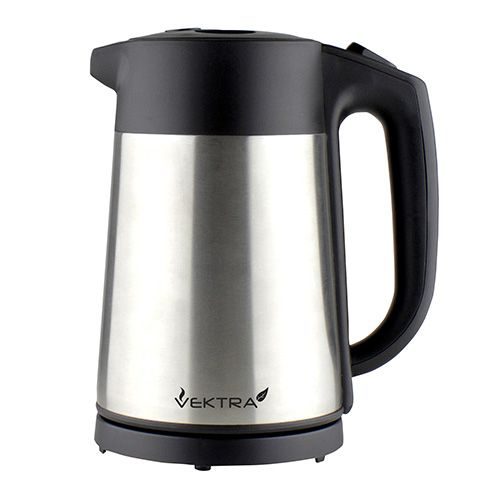 Vektra 1.5 Litre Electric Kettle Stainless Steel
