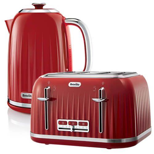 Breville Impressions Kettle Amp Toaster Set Red