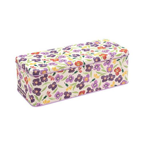 Emma Bridgewater Wallflower Long Rectangular Tin