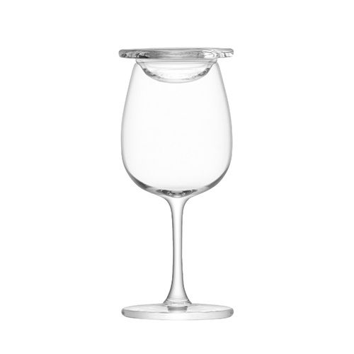 LSA Whisky Islay Nosing Glass 110ml Clear With Glass Cover Set Of 2