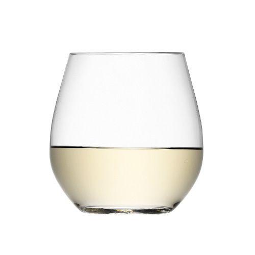 LSA Wine Stemless White Wine Glass Set Of Four