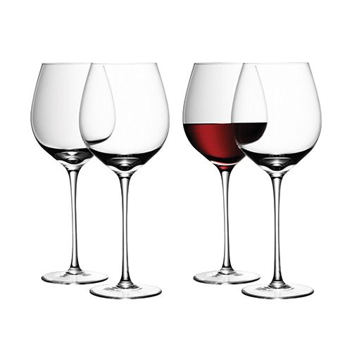 LSA Wine Red Wine Glass 550ml Set Of Four