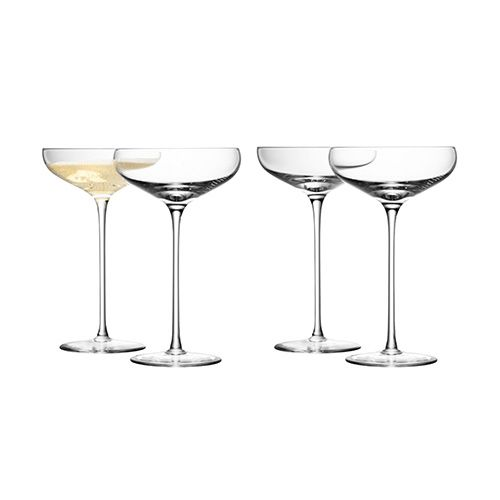 LSA Wine Champagne Saucer Set Of Four