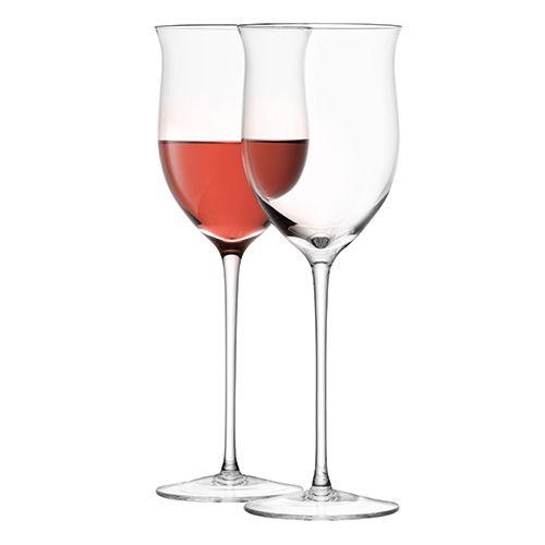 LSA Wine Rose Wine Glass 400ml Set Of Four
