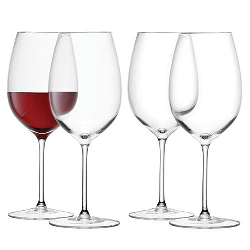 LSA Wine Red Wine Goblet 420ml Set Of Four