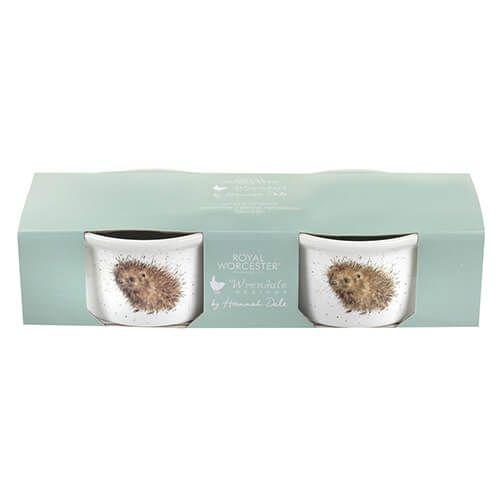 Wrendale Designs Ramekin Set of 2 Hedgehog