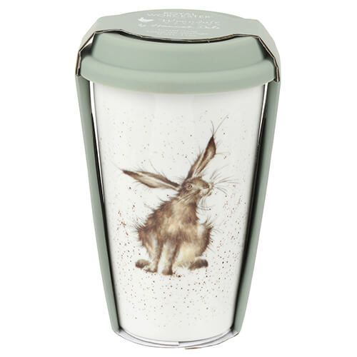 Wrendale Designs Travel Mug Hare 6 for 5