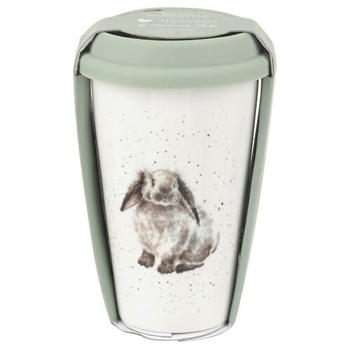 Wrendale Designs Travel Mug Rabbit 6 for 5