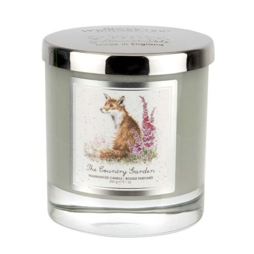 Wrendale Designs The Country Garden Glass Candle With Lid