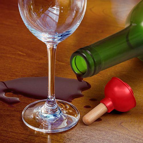 Fred Plunge Bottle Stopper