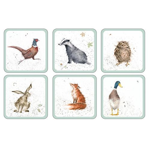 Wrendale Designs Coasters Set Of 6