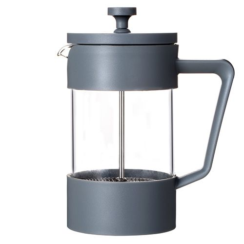 Grunwerg Cafe Ole Studio Grey 0.6L Cafetiere