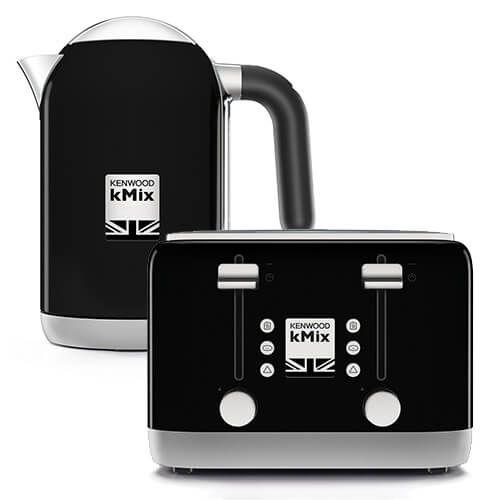 Kenwood kMix Kettle & Toaster Set Black