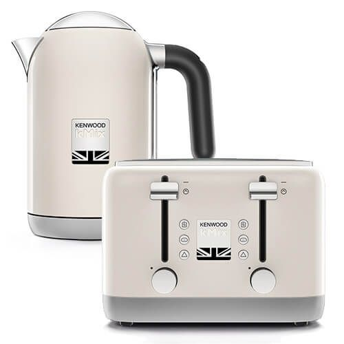 Kenwood kMix Kettle & Toaster Set Cream
