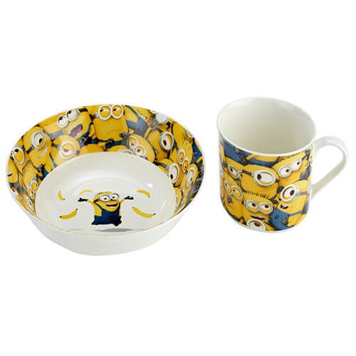 Arthur Price Despicable Me Sea of Minions 2 Piece Set