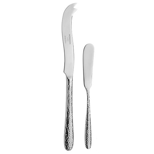 Arthur Price Monsoon Mirage Cheese & Butter Knife Set