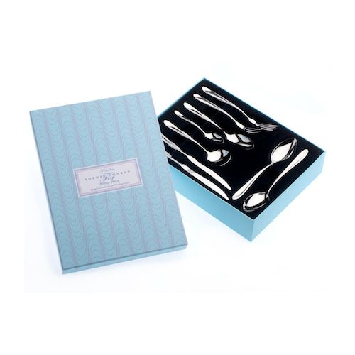 Arthur Price Sophie Conran Rivelin 44 Piece Cutlery Gift Box Set With FREE Set Of 6 Pastry Forks