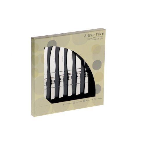 Arthur Price Classic Dubarry Set of 6 Steak Knives