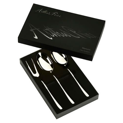 Arthur Price Signature Warwick Boxed 3 Piece Serving Set