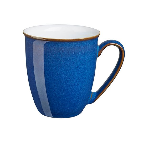 Denby Imperial Blue Coffee Beaker / Mug
