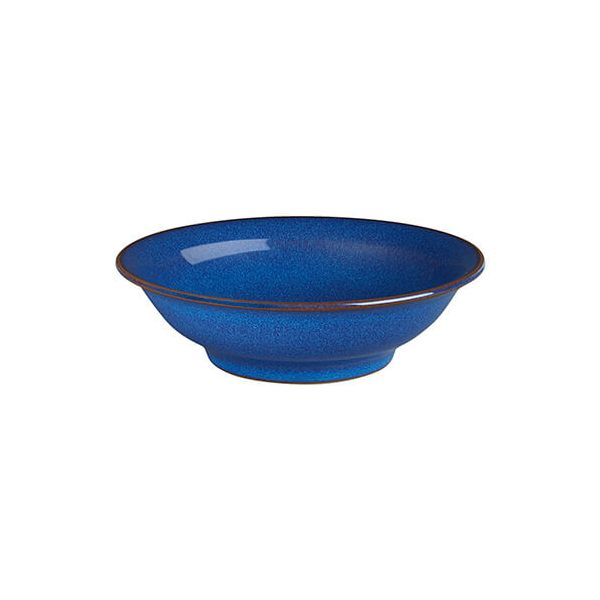 Denby Imperial Blue Small Shallow Bowl