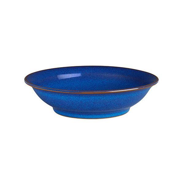 Denby Imperial Blue Medium Shallow Bowl