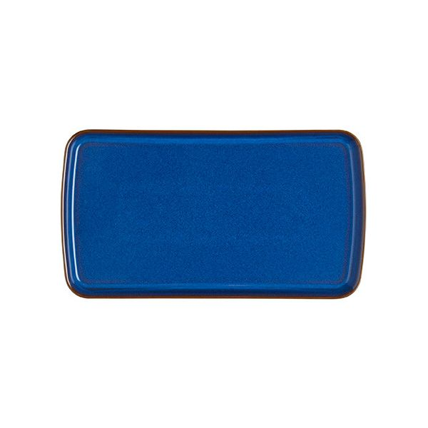 Denby Imperial Blue Small Rectangular Platter
