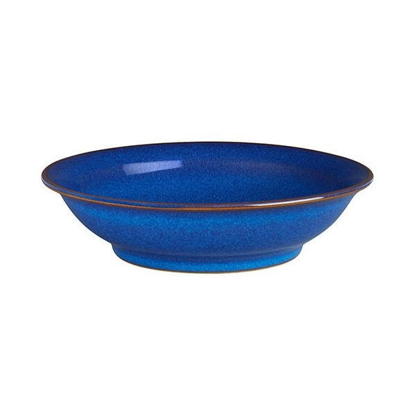 Denby Imperial Blue Large Shallow Bowl